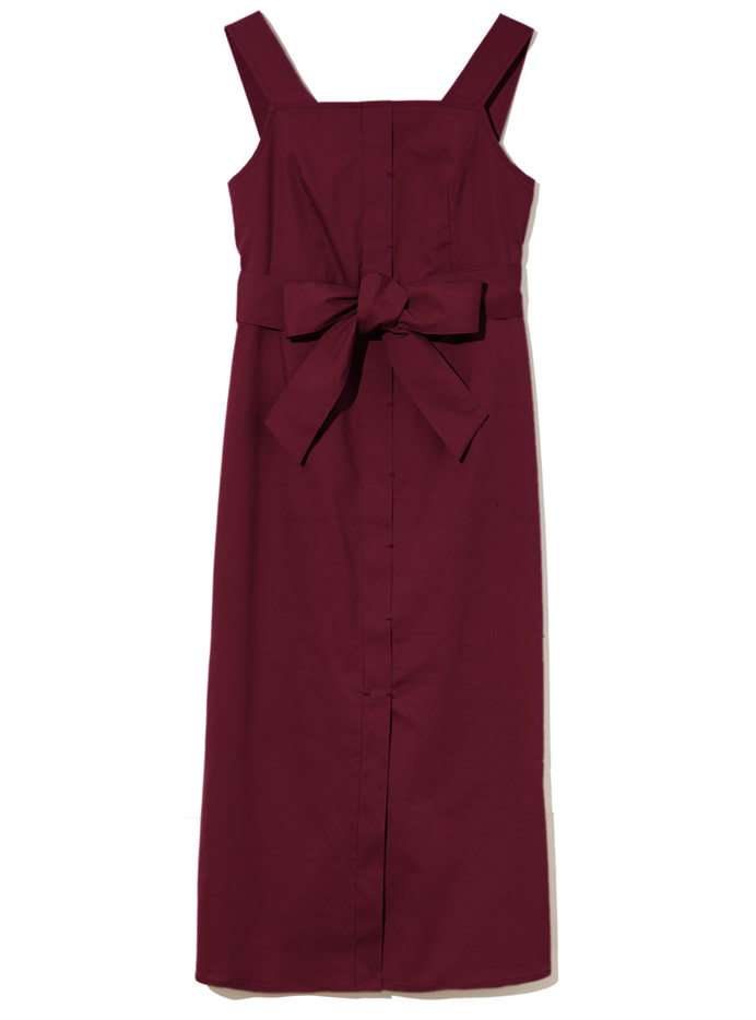 ウエストリボンタイトジャンパースカート