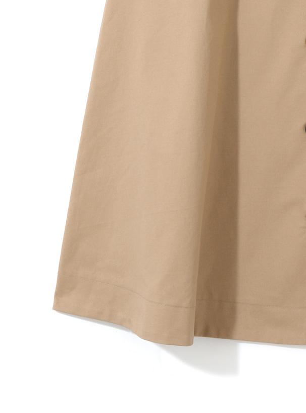 ベルト付トレンチデザインスカート