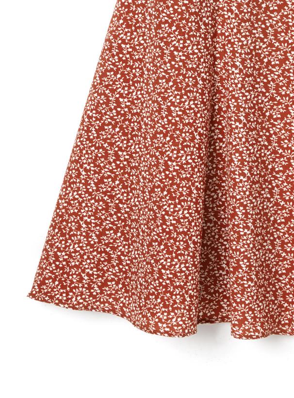 フラワーマーメイドスカート