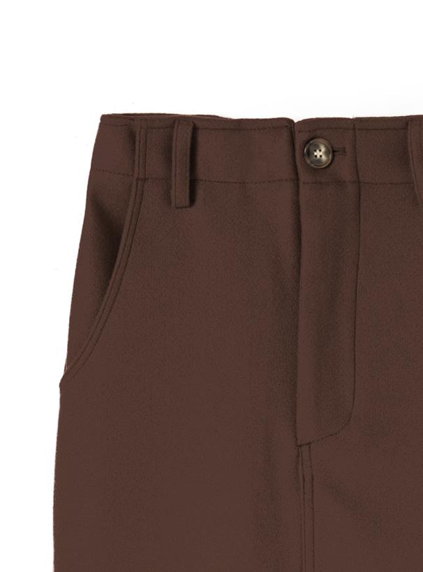 エコウールタイトスカート