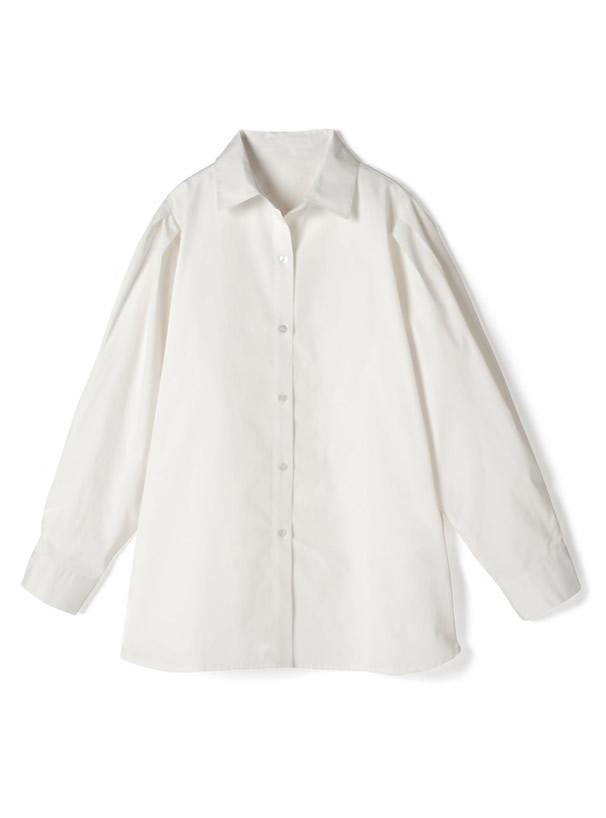 ショルダータックシャツ