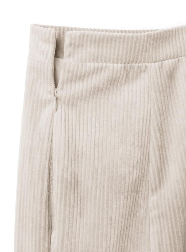コーデュロイマーメイドスカート