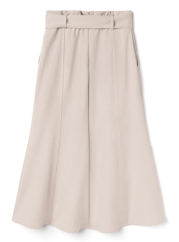 ベルト付きマーメイドスカート