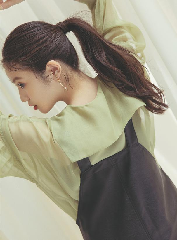 今田美桜 ビッグカラーシアーシャツ