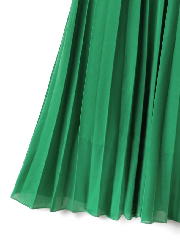 カレンダーシアープリーツスカート