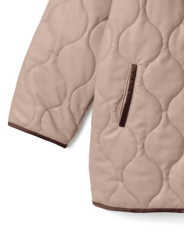 キルティングレザージャケット