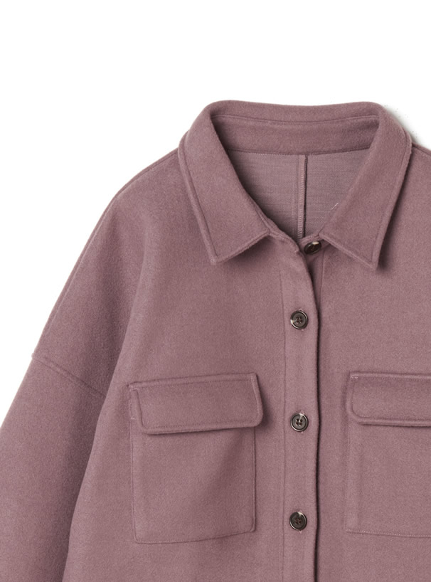 ボリュームスリーブシャツジャケット