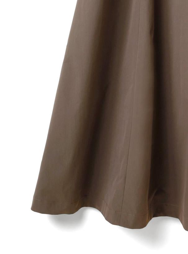 バックシャーリングジャンパースカート