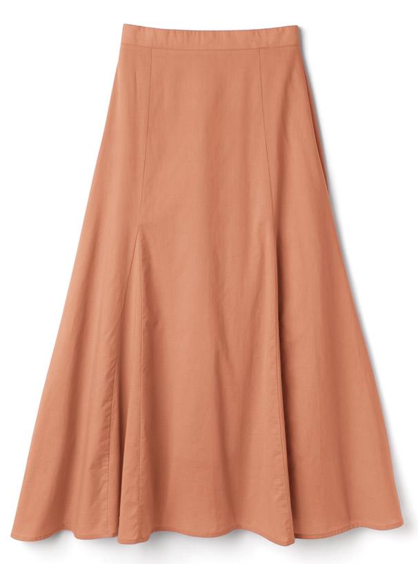 白石麻衣 コットンフレアスカート