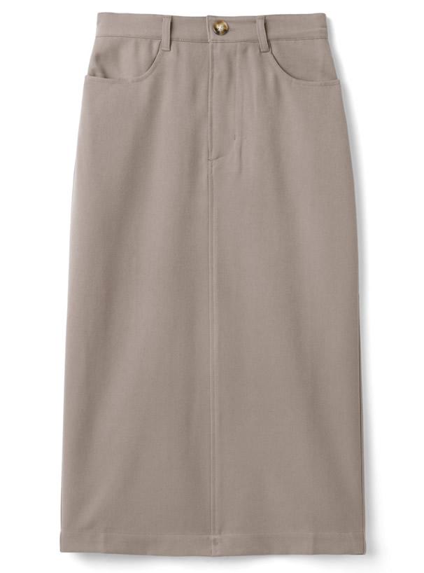 バックスリットタイトスカート