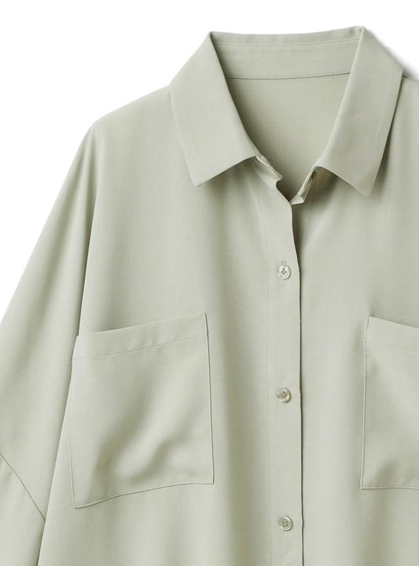 ドルマンスリーブビッグシャツ