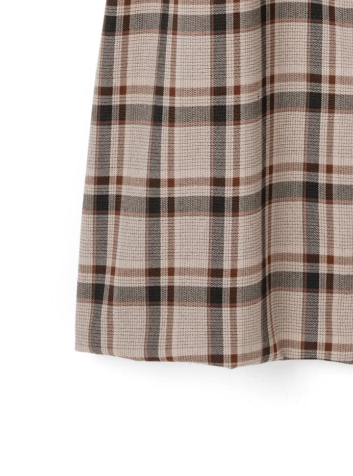 与田祐希 (乃木坂46)ベルト付きチェックジャンパースカート