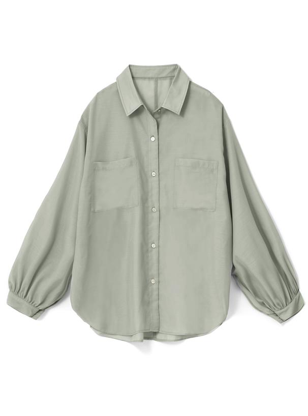 ボイルオーバーシアーシャツ