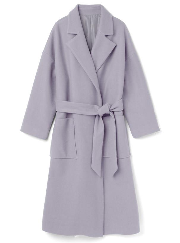 白石麻衣 オーバーサイズロングガウンコート