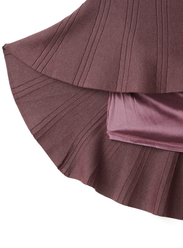 ニットマーメイドスカート