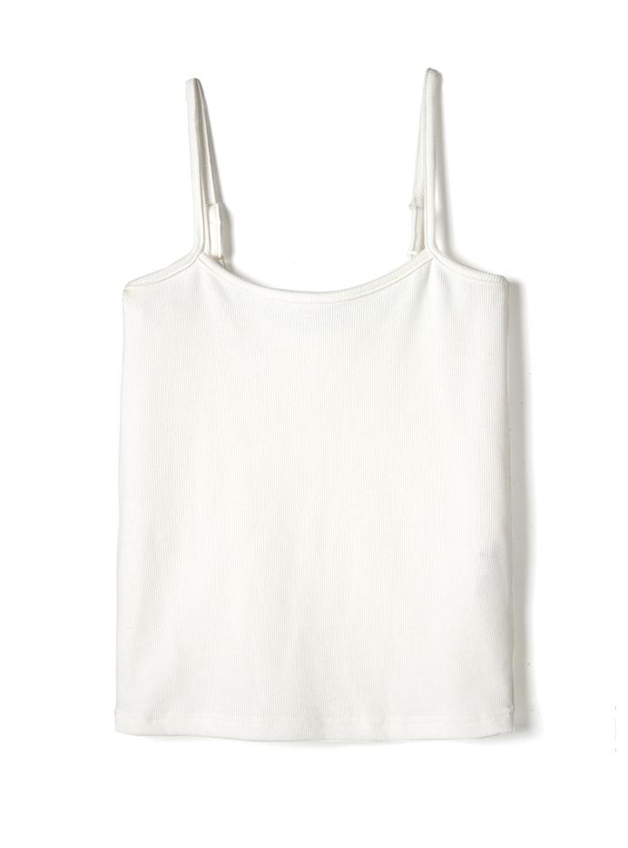 キャミソール付き胸ポケット付きシアービッグシャツ