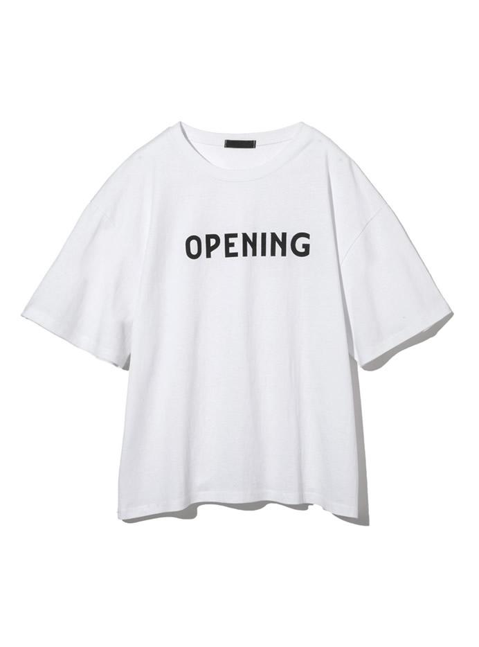 OPENINGロゴTシャツ