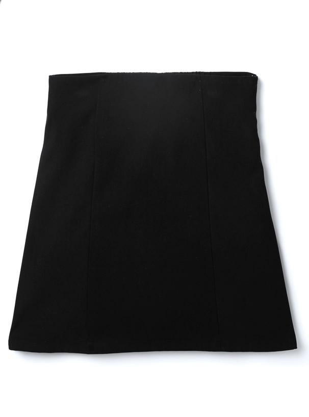 スエードショートジャケットX台形ミニスカートセットアップ