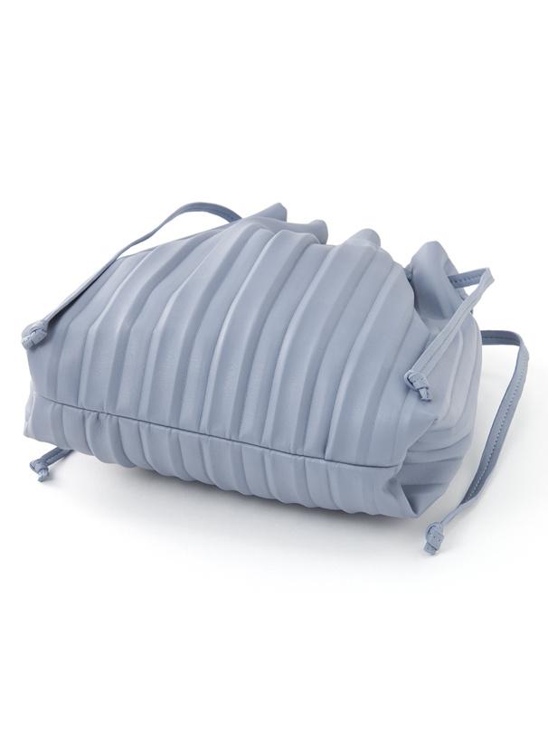 2Wayプリーツ巾着ショルダーバッグ