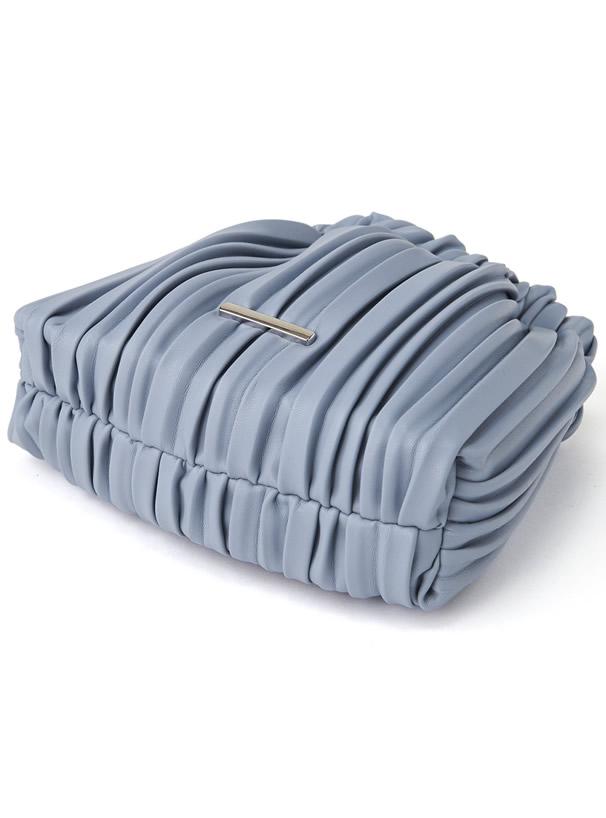 2Wayプリーツミニ巾着バッグ