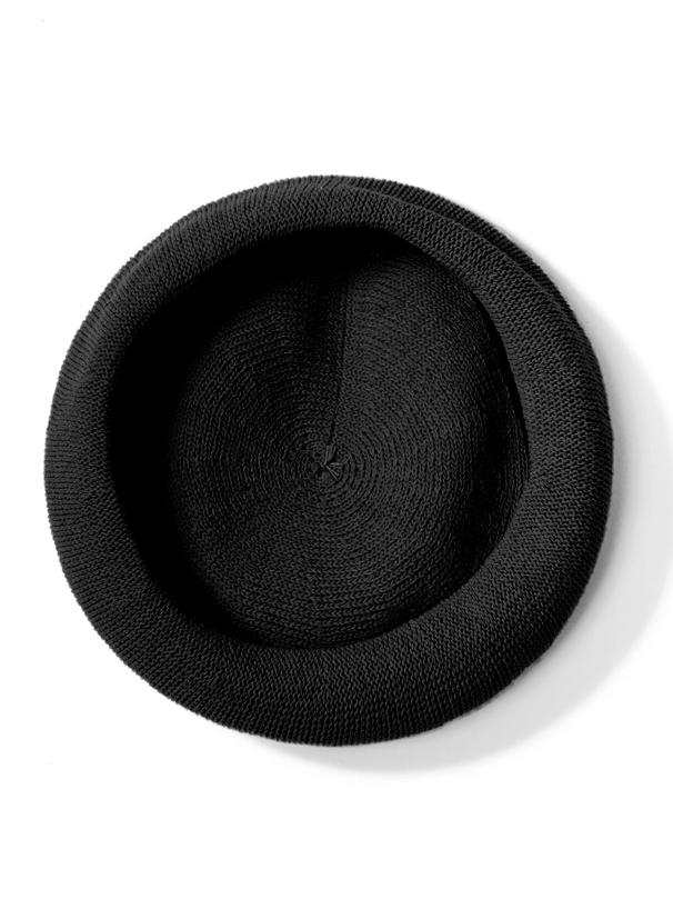 コットン混サマーニットベレー帽