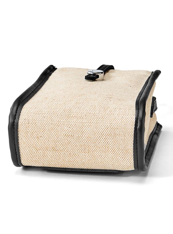異素材ミニショルダーバッグ