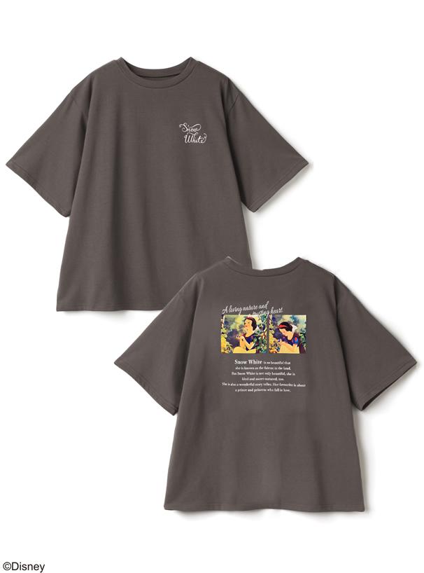 GRL/ディズニープリンセスシリーズ 白雪姫/プリントTシャツ
