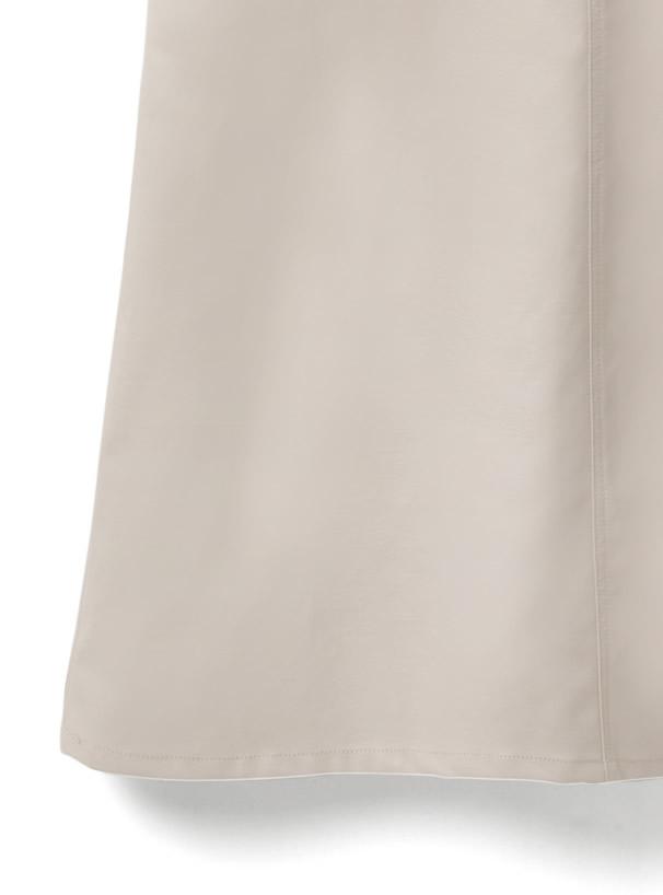 レザージャンパースカート