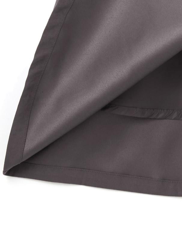 ベルト付きレースプリーツ切り替えジャンパースカート