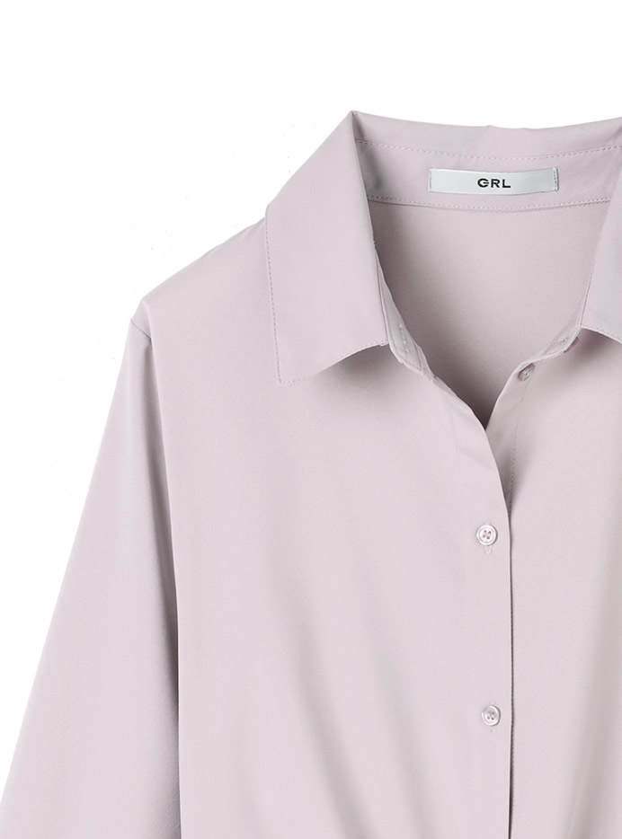 3wayイレヘムデザインシャツ