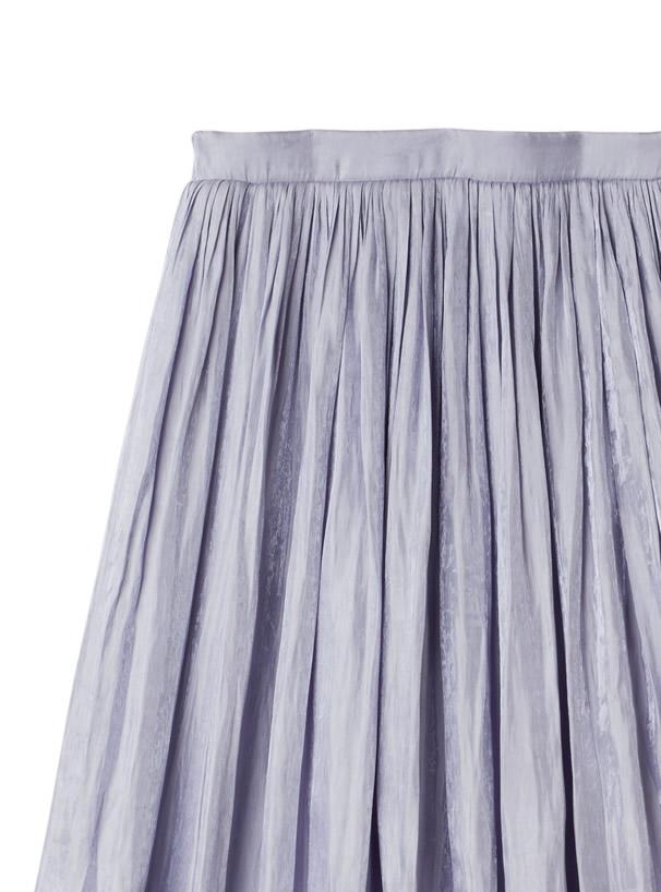 オーロラギャザーロングスカート