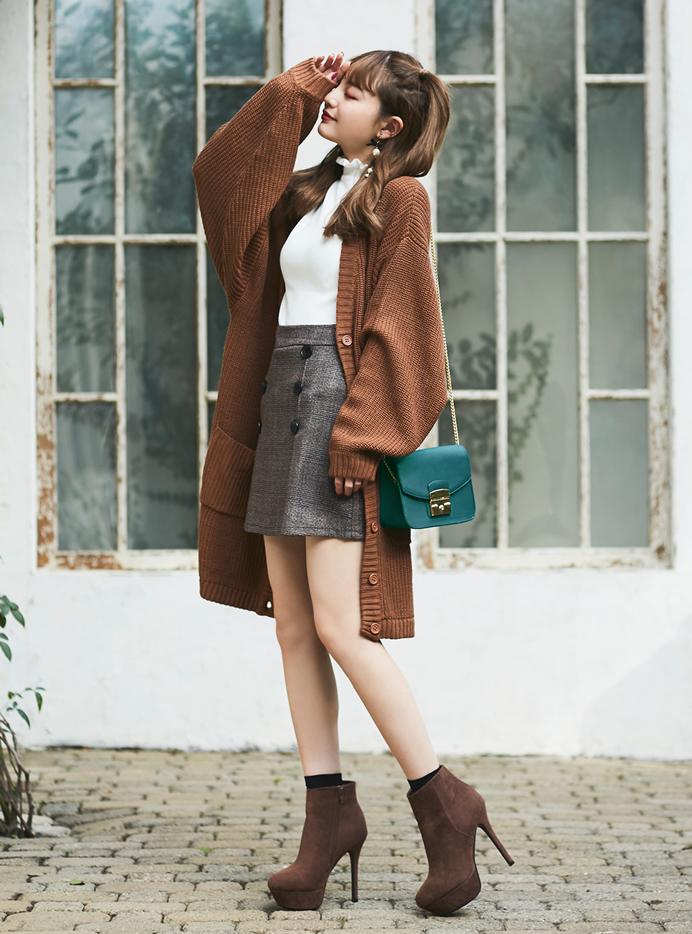 今田美桜 チェーンショルダーマルチポシェットバッグ