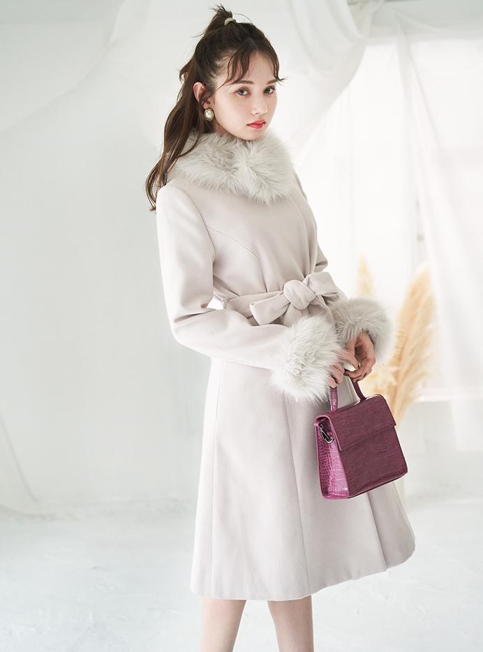 白石麻衣 2wayクロコダイル柄ショルダーバッグ