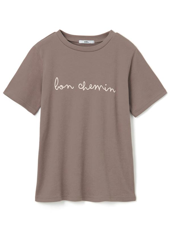 ロゴベーシッククルーネックTシャツ