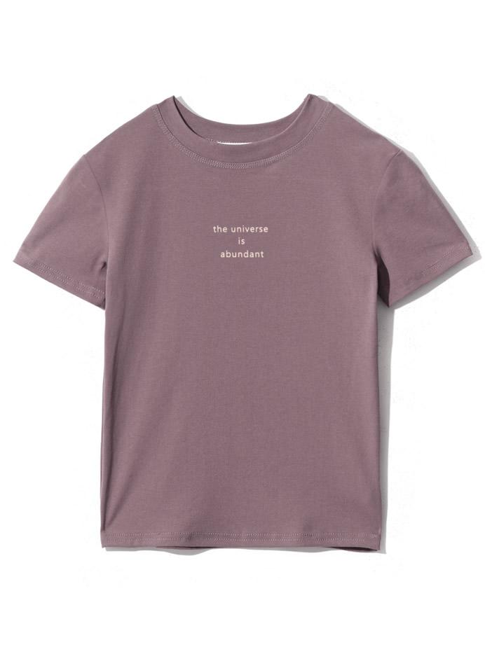 ロゴコンパクトTシャツ