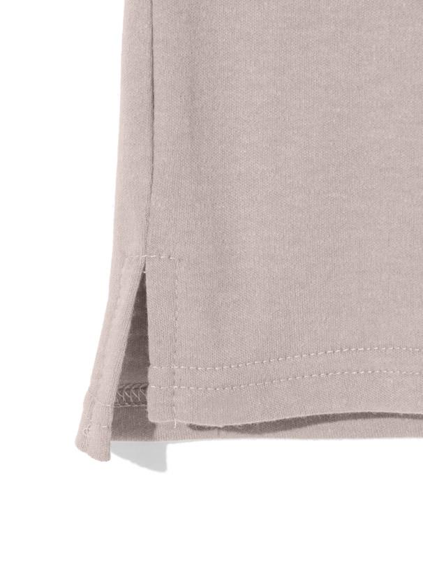 ロールアップ袖ポケット付きTシャツ