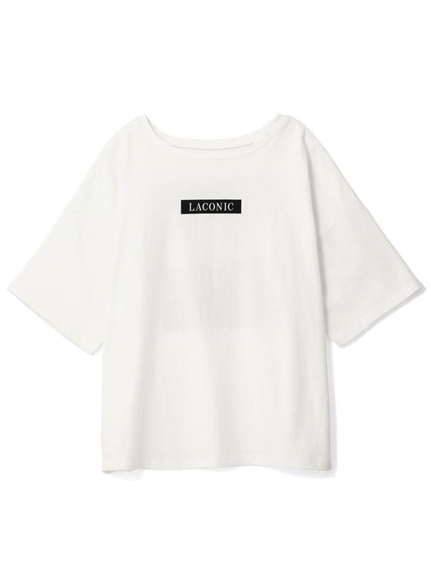 瑛茉ジャスミン ボックスロゴバックフォトプリントTシャツ