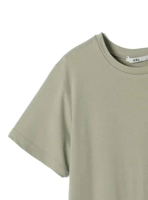 胸ポケットバックロゴTシャツ