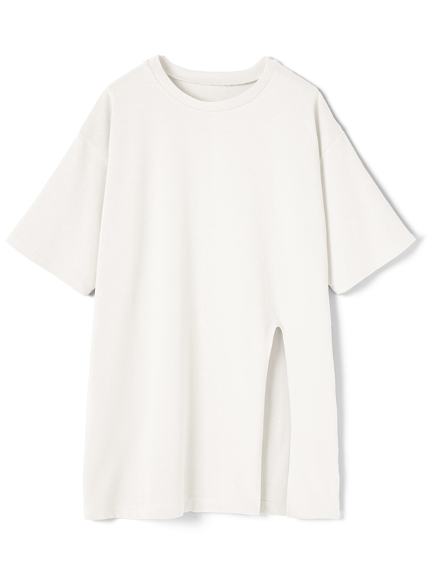 スリットビッグシルエットTシャツ