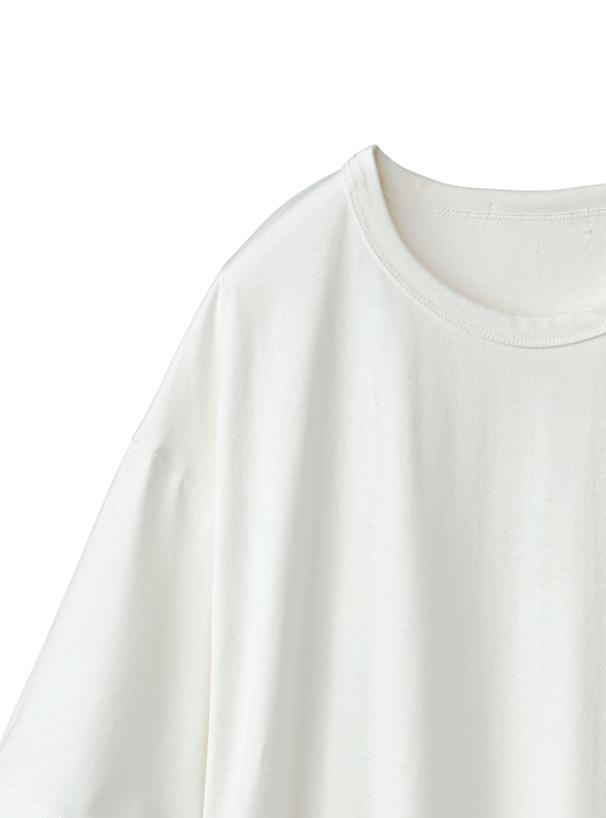 サイドスリットロングTシャツ