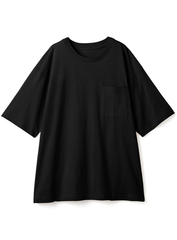 ポケット付きルーズシルエットTシャツ