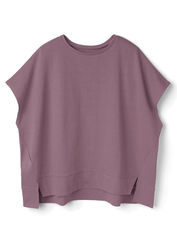 コットンフレンチスリーブワイドTシャツ