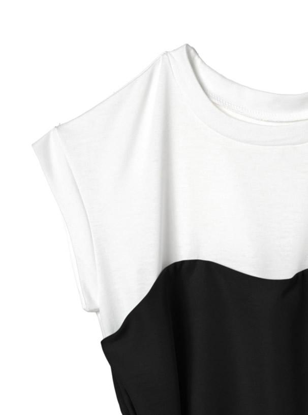 ウエストリボンビスチェドッキングTシャツ