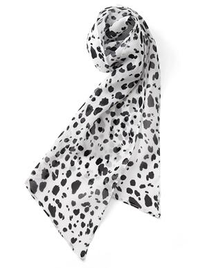 ダルメシアンプリントスカーフ