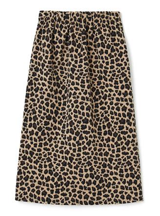 レオパードタイトスカート