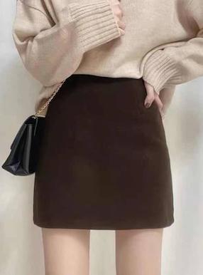 インパン付き台形スカート