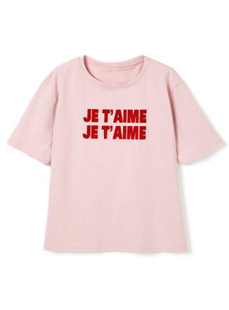 JE T'AIMEロゴTシャツ
