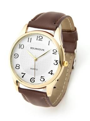 エコレザーベルト時計