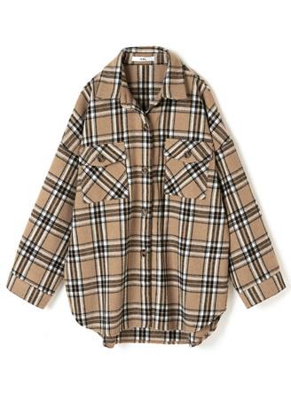 チェックシャツジャケット