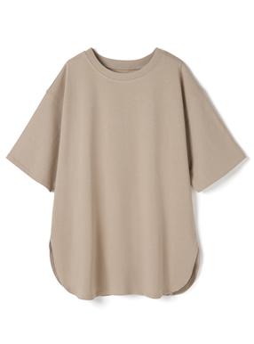 USコットンオーバーサイズサイドスリットTシャツ